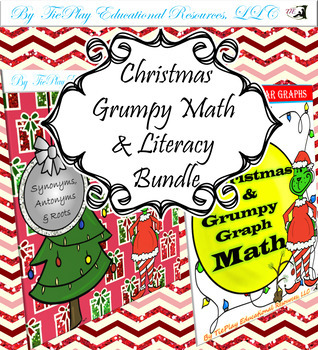 Christmas & Grumpy Math Literacy Bundle
