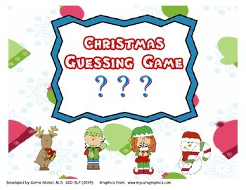Christmas Guessing Game