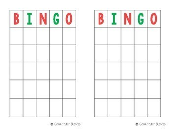 Christmas Guessing Game and Bingo (Freebie)