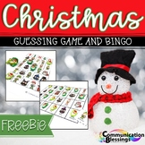 Christmas Guessing Game and Bingo (Freebie)