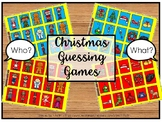 Christmas Guessing Games:  Who? and What?