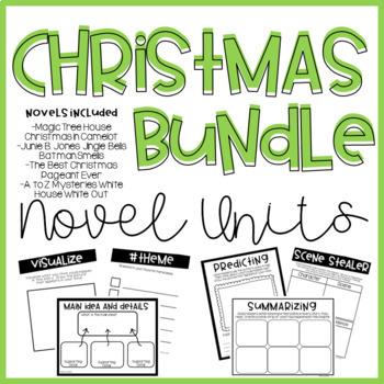 christmas novel units bundle christmas novel units bundle - Best Christmas Novels