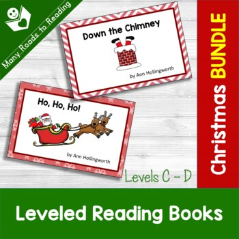Christmas Guided Reading Book Levels C-D BUNDLE