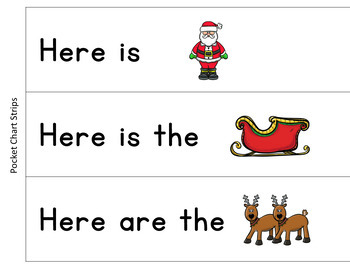 Christmas Guided Reading Book and Word Work Level D, Ho, Ho, Ho