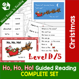 Christmas Guided Reading Book COMPLETE SET, Level D/5: Ho,