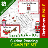 Christmas Guided Reading COMPLETE {books, word work, writi