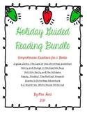 Holiday Guided Reading Comprehension Bundle