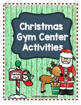 Christmas Gym Center Activities