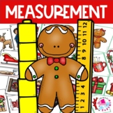 Math Center Christmas HOLIDAY BUNDLE: Measurement