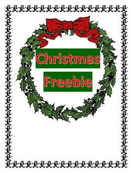 Christmas Haiku Freebie