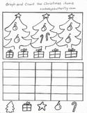 Christmas Hand-Drawn Math Printables!