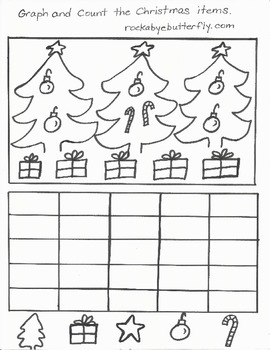 Christmas Hand-Drawn Math Printables!