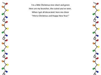 Christmas Handprint Peoms
