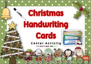 Christmas Center Activity