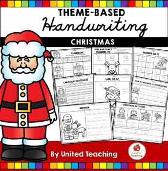 Christmas Handwriting Lessons (Cursive Edition)