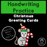 Christmas Handwriting Practice with Handwriting Without Te
