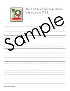 Christmas Handwriting - Copywork - Print