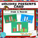 Christmas Card and Hanukkah Card- Create and Decorate, Presents