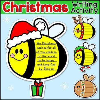 Christmas Writing Activity - Hanukkah and Kwanzaa Writing