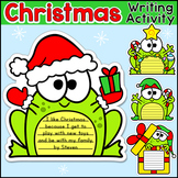 Christmas Writing: Hanukkah, Kwanzaa and Christmas Frogs W