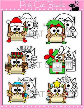 Christmas Activities - Owl Theme Hanukkah and Kwanzaa Writing Bulletin Board