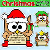Christmas Activities - Owl Theme Hanukkah, Kwanzaa and Christmas Writing