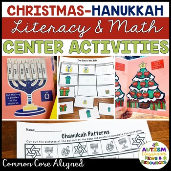 Christmas - Hanukkah Literacy and Math Megapack: Elementary and Special Ed