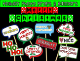 Christmas & Hanukkah Photo Booth Props & Banners