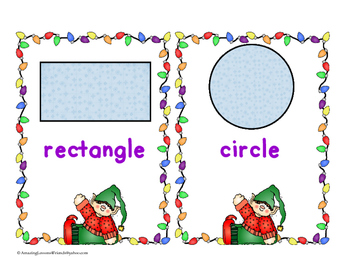 Christmas Happy Elf Shape Cards