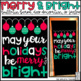 Christmas/Happy Holidays Bulletin Board, Door Decor, or Poster