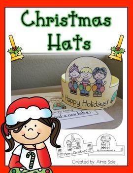 Christmas Hats (Headband)