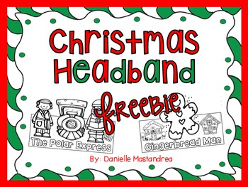 Christmas Headband FREEBIE
