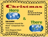 Christmas Around the World - Here & There Venn Diagram for Learning Centers