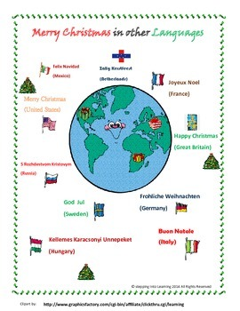 Christmas Here and There- Around the World