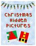 Christmas Hidden Pictures 100's chart pack