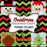 Christmas Hidden Pictures ~ Hundreds Chart Activities