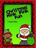Christmas Hink Pink Fun