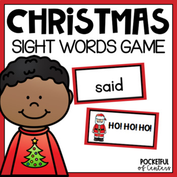 Christmas Sight Word Game