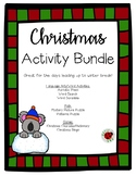 Christmas Holiday Activities & Games