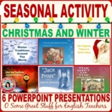 CHRISTMAS/HOLIDAY ACTIVITIES - Seven PowerPoint Presentations with Activities