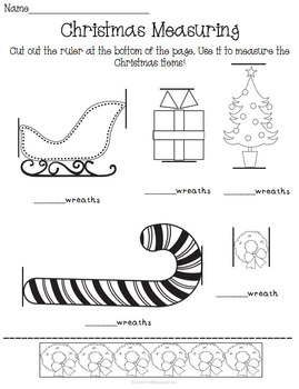 Christmas Holiday Activity Set K-1 Math Literacy Games Puzzles Writing