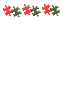 Christmas Holiday Backgrounds and Borders – Autism Support Theme FREE