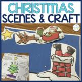 Christmas Holiday Barrier Activity & Craftivity Speech and