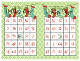 Christmas Holiday Bingo Game