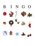Christmas Holiday Bingo Game for Preschool and Kindergarten