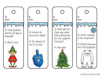 Free Christmas and Holiday Bookmarks