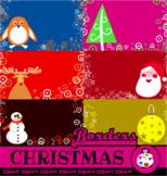 Christmas Holiday Border Designs