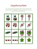 Christmas/Holiday Candy Memory Match Game
