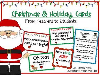 Christmas Holiday Cards