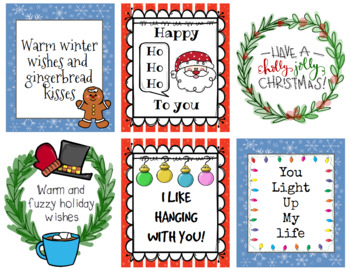 Christmas Holiday Cards - Pack 1